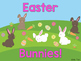 Sight Word Slide Show, Literacy First List A Words 51-100, Spring & Easter