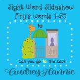 *FREEBIE* Sight Word Slideshow/PowerPoint, Fry Words 1-50