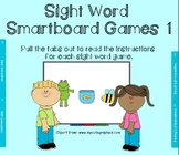 Sight Word Smartboard Games set 1