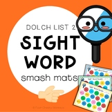 Sight Word Smash - Play Dough Fun Dolch List 2