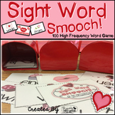 "Sight Word Activities ""Sight Word Smooch"" - 100 Sight Words Reading Game"