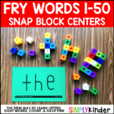 Snap Block Center, Sight Words, Fry