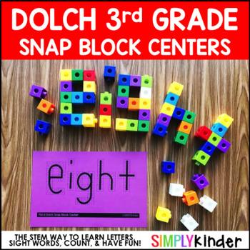 Sight Block Sight Words - 3rd Grade Dolch