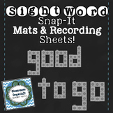 {Sight Word Snap-It!}