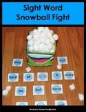 Sight Word Snowball Fight