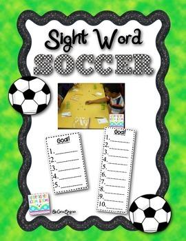 Sight Word Soccer - FREEBIE