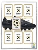 Sight Word Soccer Penalty Kick Game (grade 3)