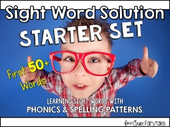 Sight Word Solution: Starter Set to Teach 50+ Words {FREE}