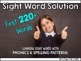 Sight Word Solution: Teaching 220+ Words
