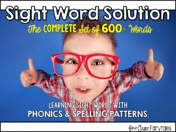 Sight Word Solution: Teaching 600+ Words COMPLETE SET