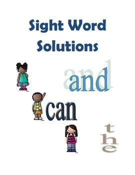 Sight Word Solutions