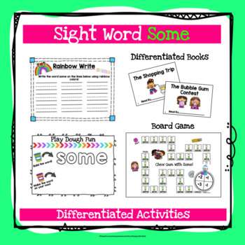 Sight Word Some Activities