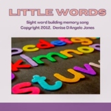 Sight Word Song Little Words Jazzy Bella