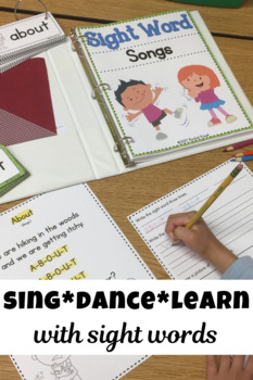 Sight Word Songs