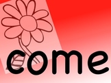 """Sight Word Songs - """"COME"""""""