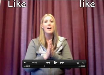 "Sight Word Songs - ""LIKE"""