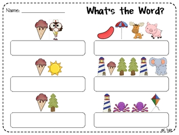 Sight Word Sound-A-Word