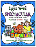 Sight Word Spectacular