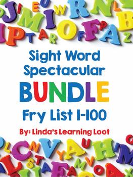Sight Word Spectacular BUNDLE: Fry Words 1-100