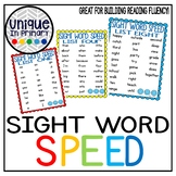 Sight Word Speed: Fountas and Pinnell Sight Word List