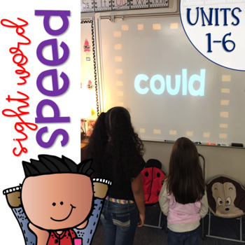 Sight Word Games of Speed 1st grade BUNDLE