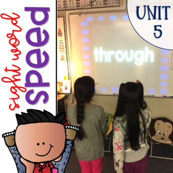 Sight Word Games of Speed 1st grade {Unit 5}