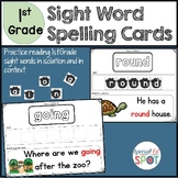 Sight Word Spelling Cards and Worksheets - 1st Grade Words