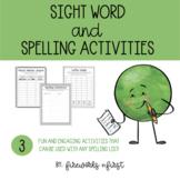 Sight Word & Spelling Activities