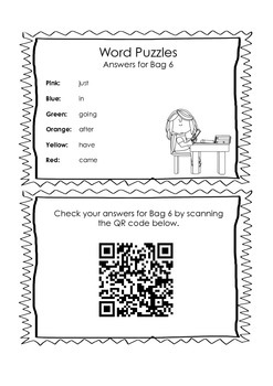 Sight Word Spelling Activity - with QR Codes!!!