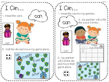 Sight Word Spelling Game ~ Fairy Tale ~ Editable