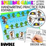 Sight Word Spelling Game ~ Bundle ~ Editable