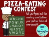 Sight Word Spelling Game: Pizza-Eating Contest