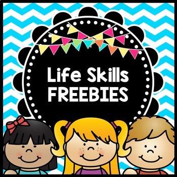 FREE Life Skills Reading, Writing, and Math: BUNDLE SAMPLER