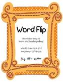 Sight Word Spelling - Spelling Flip Book