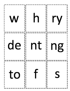 Sight Word Spelling - Spelling Flip Book
