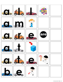 Sight Word Spelling Books Spell, Match, Write, Say for Special Education 2