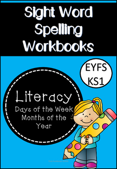 Sight Word Spelling Workbooks