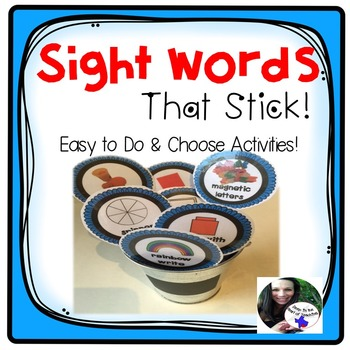 Sight Word  Spelling  Center Activities
