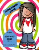 Sight Word Spin Its