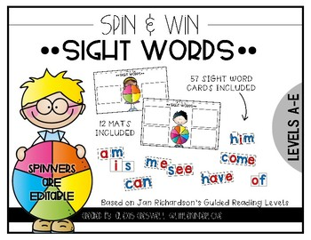 Sight Word Spin & Win