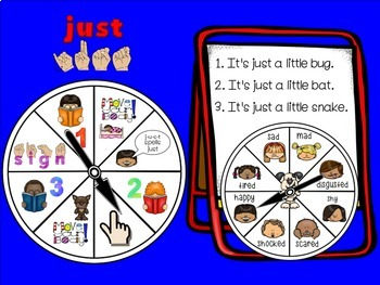 SMARTBoard Lesson: Sight Word Spinners - First Grade - Move Your Body!