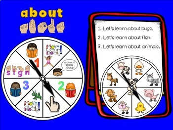 SMARTBoard Lesson: Sight Word Spinners - Fry's First 100 - Move Your Body!