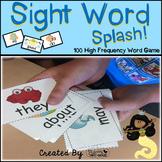 "Sight Word Activities ""Sight Word Splash"" - Sight Words Reading Game"