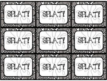 Sight Word Splat 2nd Hundred Fry Words