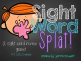Sight Word Splat! (A Sight Word Review Game)
