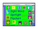 Sight Word Spotlight Flipchart