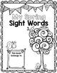 Sight Word Spring Editable Printable Freebie
