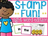 Sight Word Stamp Fun