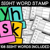 Sight Word Stamp Station NO PREP