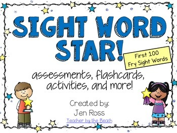 Sight Word Star! 1-100 Fry Sight Words